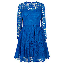 Buy Coast Mallary Lace Dress, Blue Online at johnlewis.com