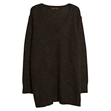 Buy Violeta by Mango Mohair Wool Blend Jumper, Grey Online at johnlewis.com