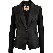 Buy Ted Baker Camouflage Suit Jacket, Black Online at johnlewis.com