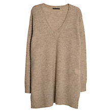 Buy Violeta by Mango Mohair Sweater, Beige Online at johnlewis.com