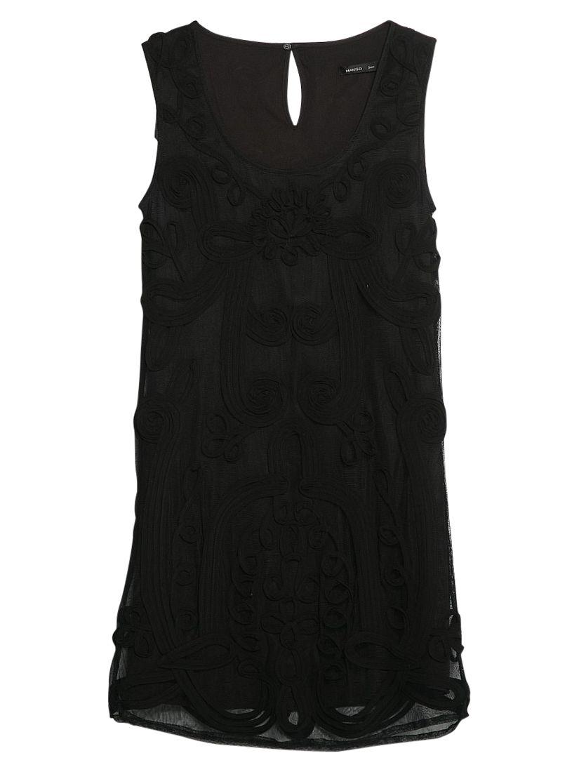 mango floral embroidery dress black, mango, floral, embroidery, dress, black, 6|12|8, clearance, womenswear offers, womens dresses offers, women, inactive womenswear, new reductions, womens dresses, special offers, 1757549