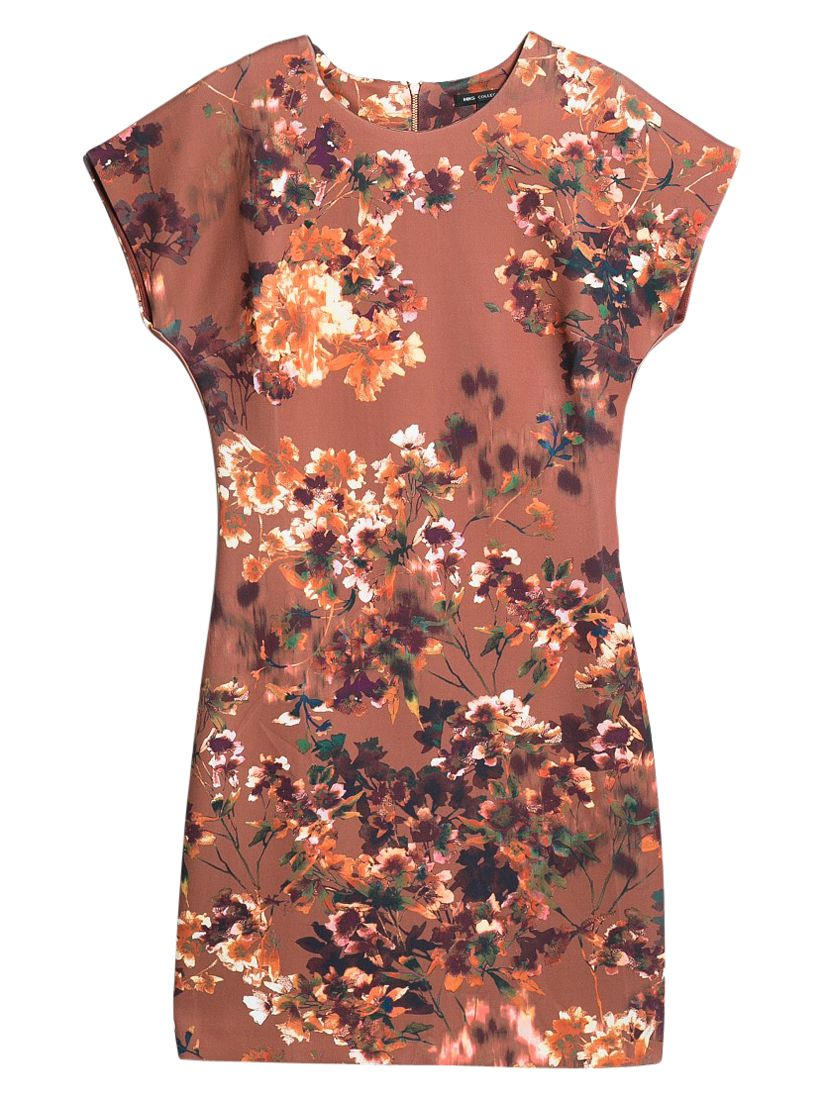 mango digital floral print dress medium brown, mango, digital, floral, print, dress, medium, brown, 6|8|10, clearance, womenswear offers, womens dresses offers, women, inactive womenswear, new reductions, womens dresses, special offers, 1757349