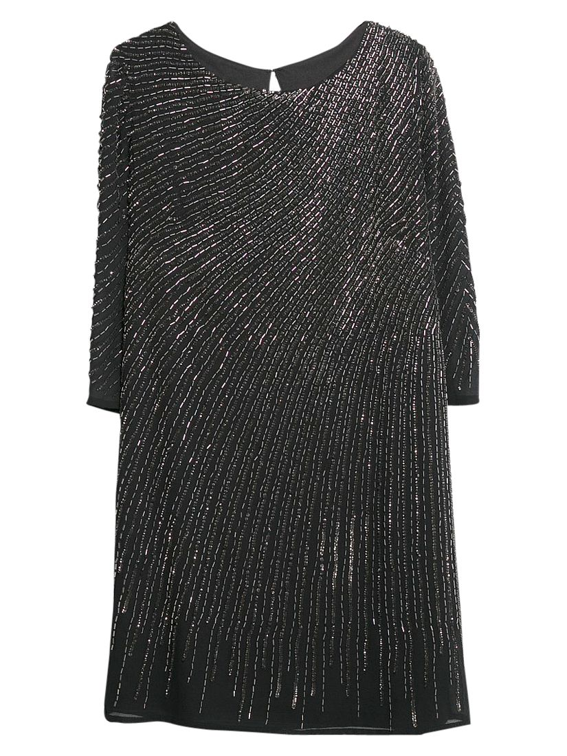 mango sequin beaded dress black, mango, sequin, beaded, dress, black, 10|6, clearance, womenswear offers, womens dresses offers, women, inactive womenswear, new reductions, womens dresses, party outfits, party dresses, special offers, edition magazine, little black dress, embellishment, 1759226