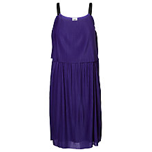 Buy Mamalicious Joulie Pleat Maternity Nursing Dress, Blue Online at johnlewis.com