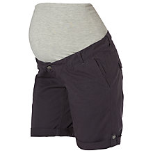 Buy Mamalicious Andrea Woven Shorts, Navy Online at johnlewis.com