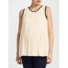 Buy Mamalicious Sara Lia Sleeveless Maternity Top, Cream Online at johnlewis.com