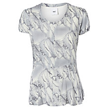 Buy Mamalicious Marble Lia Maternity Nursing T-Shirt, Grey Marble Online at johnlewis.com
