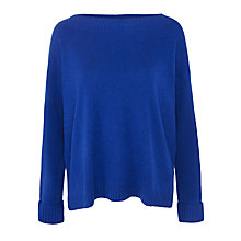 Buy Winser Audrey Cashmere Jumper, Winser Blue Online at johnlewis.com