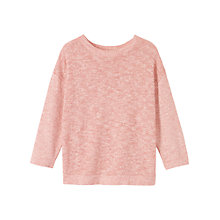 Buy Toast Totto Spiral Knit Sweater, Bright Red/White Online at johnlewis.com