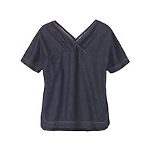 Buy Toast Lightweight Denim Top, Indigo Online at johnlewis.com