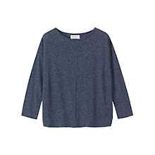Buy Toast Melange T-shirt, Indigo Online at johnlewis.com