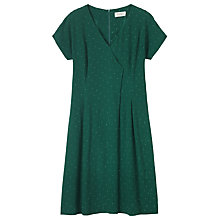 Buy Toast Madoka Print Dress, Teal Online at johnlewis.com