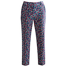 Buy Joules Audrey Print Cotton Trousers, Multi Online at johnlewis.com