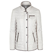 Buy Gerry Weber Contrast Piping Coat Online at johnlewis.com