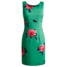 Buy Joules Natasha Dress, Spring Green Peony Online at johnlewis.com