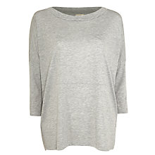 Buy Selected Femme Dare Top, Grey Online at johnlewis.com