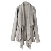 Buy Winser Silk/Cashmere Cardigan, Grey Marl Online at johnlewis.com