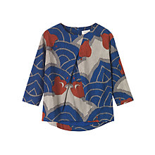 Buy Toast Hitomi Top, Indigo Online at johnlewis.com