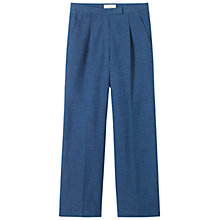 Buy Toast Kazuko Slub Denim Trousers, Indigo Online at johnlewis.com