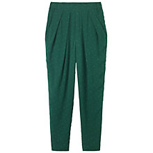 Buy Toast Madoka Print Trousers, Teal/Cloud Grey Online at johnlewis.com