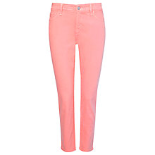 Buy NYDJ Ankle Skinny Jeans, Bright Melon Online at johnlewis.com