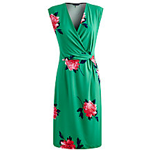 Buy Joules Marilyn Dress, Spring Green Peony Online at johnlewis.com