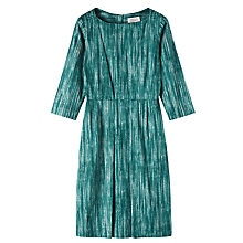 Buy Toast Aichi Print Dress, Teal Online at johnlewis.com