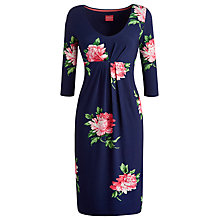 Buy Joules Annette Dress, French Navy/Peony Online at johnlewis.com