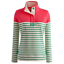 Buy Joules Cowdray Sweatshirt, Spring Green Stripe Online at johnlewis.com