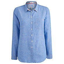 Buy Joules Jeanie Shirt, Light Blue Chambray Online at johnlewis.com