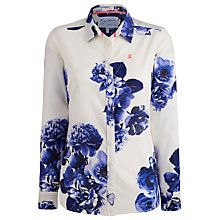Buy Joules Maywell Shirt, Cream Butterfly Floral Online at johnlewis.com
