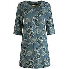 Buy Seasalt Canopy Tunic Dress, Garden Of Eden Peacock Online at johnlewis.com