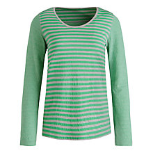 Buy Seasalt Flowing Tide Top, Mull Apple Online at johnlewis.com