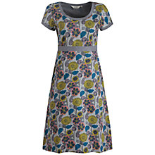 Buy Seasalt Morvoren Dress, Garden Of Eden Pumice Online at johnlewis.com