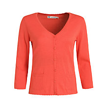 Buy Seasalt St. Kathryn's Cardigan, Coral Online at johnlewis.com