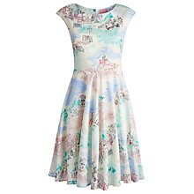 Buy Joules Amelie Dress, French Market Cream Online at johnlewis.com