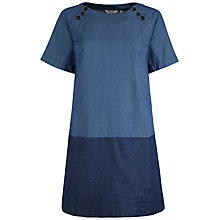 Buy Seasalt Hops Cotton Dress, Indigo Online at johnlewis.com