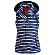 Buy Joules Covesea Gilet, Navy Stripe Online at johnlewis.com