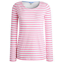 Buy Joules Woven Back Top, Pretty Pink Stripe Online at johnlewis.com
