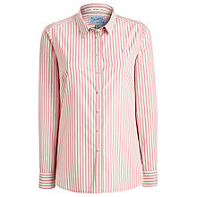 Buy Joules Kingston Shirt, Pretty Pink Stripe Online at johnlewis.com