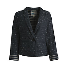 Buy Seasalt Cocoa Cotton Jacket, Squid Ink Online at johnlewis.com