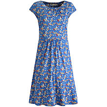 Buy Seasalt Carnmoggas Field Flowers Dress, Cornish Blue Online at johnlewis.com