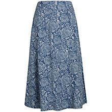 Buy Seasalt Crankan Skirt, Indigo Rose Sailor Online at johnlewis.com