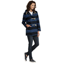 Buy Seasalt Brittany Jacket, Sea Blocks Squid Ink Online at johnlewis.com