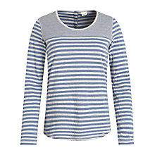 Buy Seasalt Reversible Flowing Tide Top Online at johnlewis.com