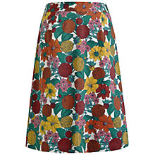 Buy Seasalt Lawhippet Botanical Study Cotton Skirt, Multi Online at johnlewis.com