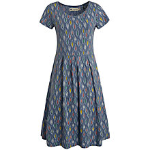 Buy Seasalt Riviera Dress, Drawn Leaf Borage Online at johnlewis.com