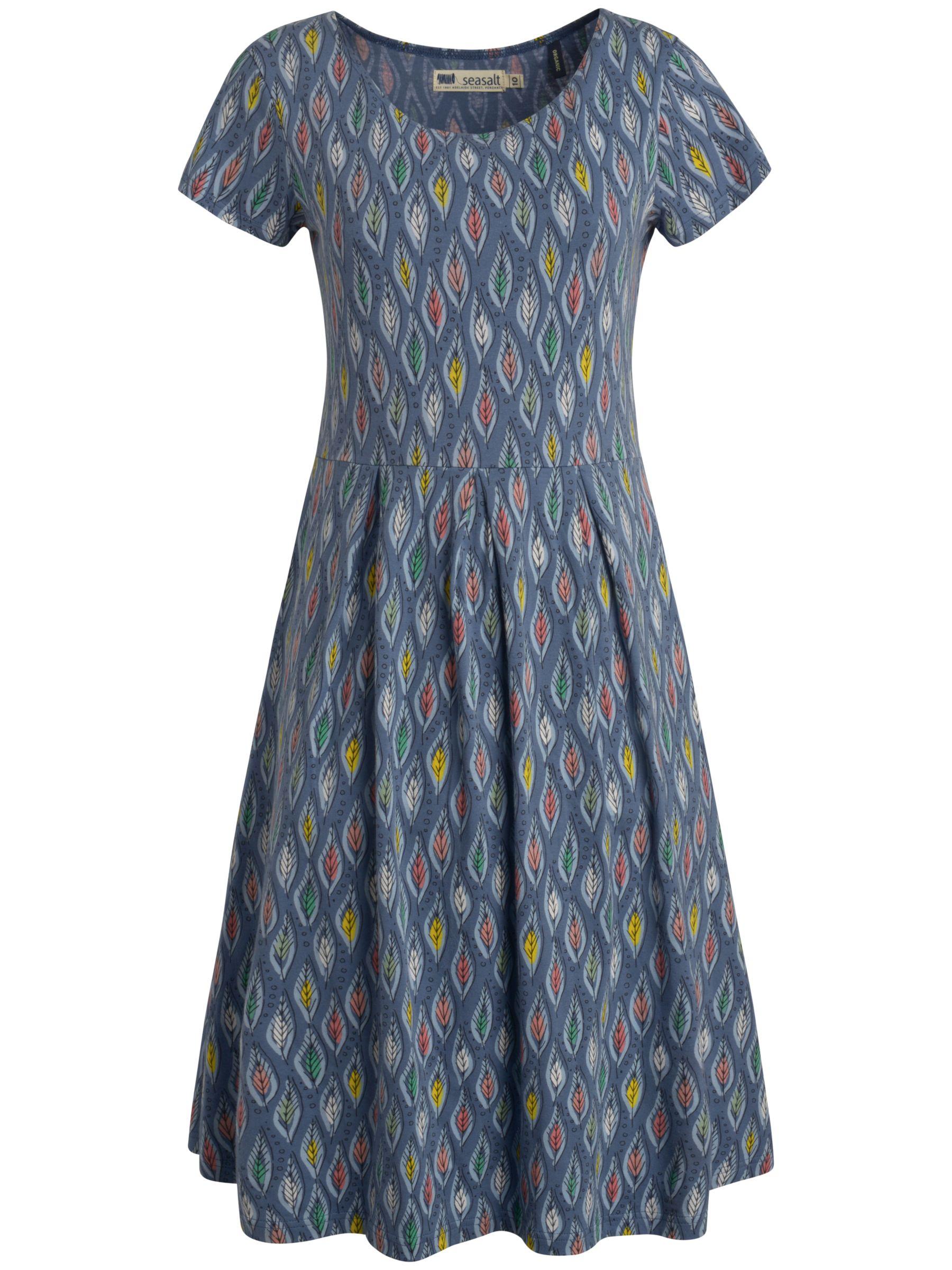 seasalt riviera dress drawn leaf borage, seasalt, riviera, dress, drawn, leaf, borage, 16|8|14|12|10, women, womens dresses, 1938202