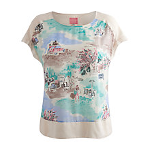 Buy Joules Joy Top, French Market Cream Online at johnlewis.com