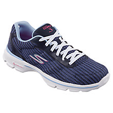 Buy Skechers GOwalk 3 Fitknit Trainers Online at johnlewis.com
